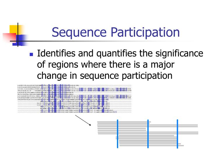 Sequence Participation