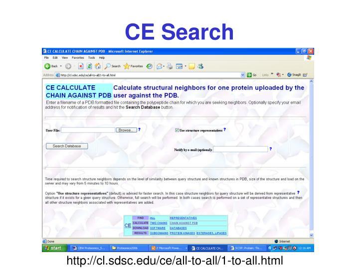 CE Search