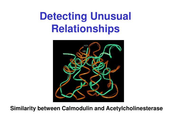 Detecting Unusual Relationships