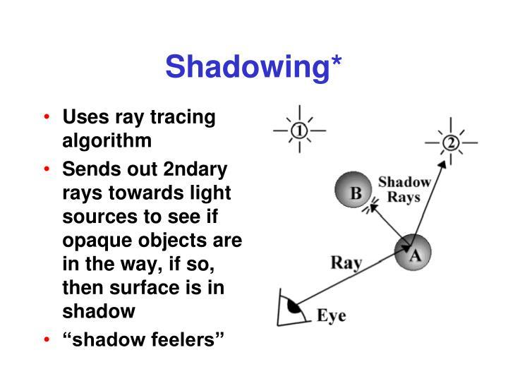 Shadowing*