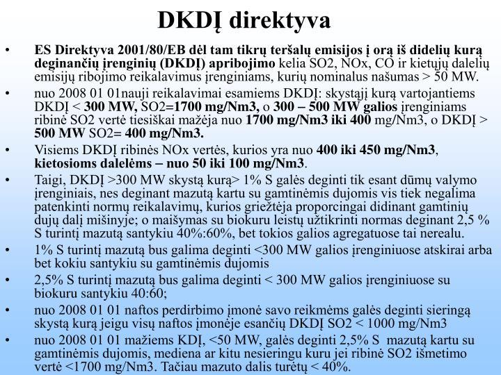 DKDĮ direktyva