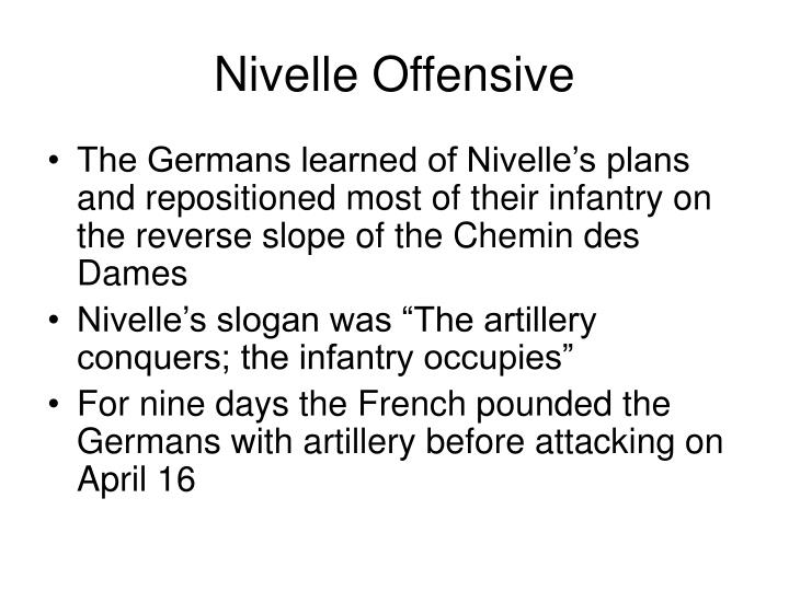 Nivelle Offensive