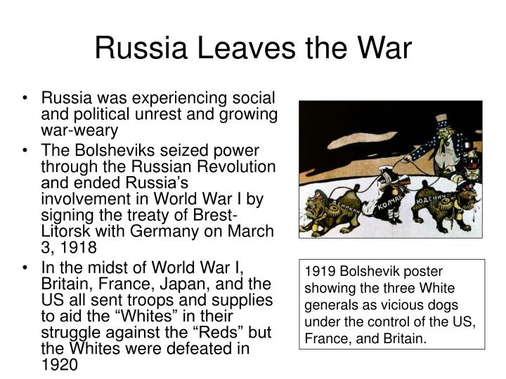 Russia Leaves the War