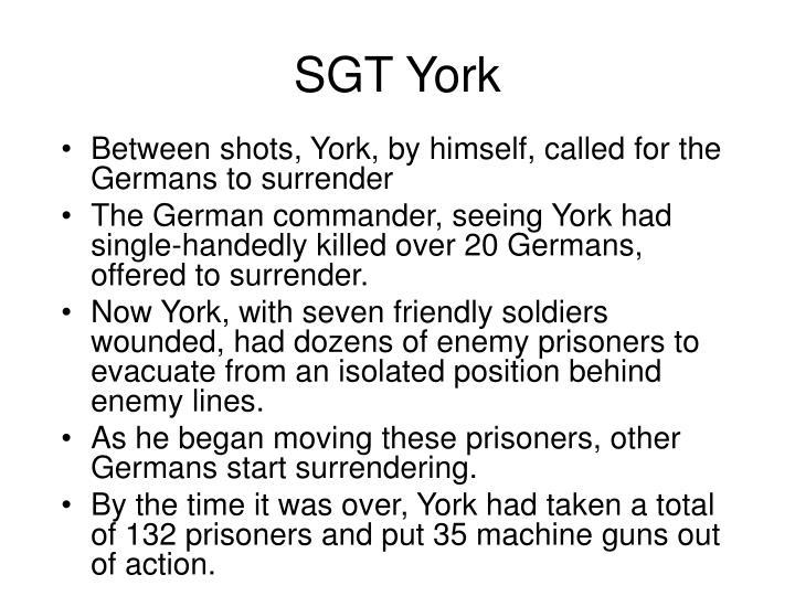 SGT York