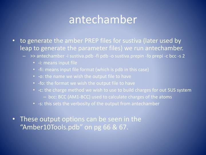 antechamber