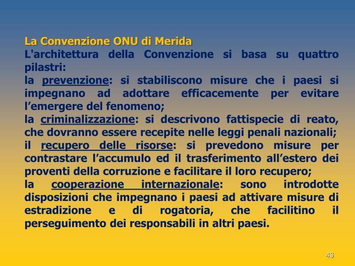 La Convenzione ONU di