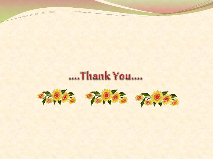 ….Thank You….