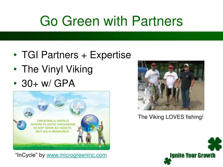Go Green with Partners