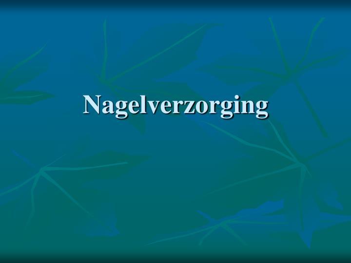 Nagelverzorging