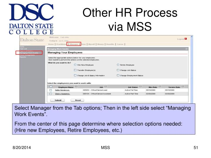 Other HR Process