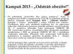 kampa 2013 odstr obezitu