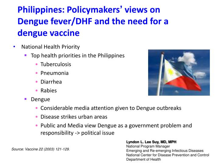 Philippines: Policymakers