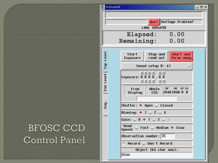 BFOSC CCD