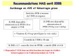 recommandations has avril 20081