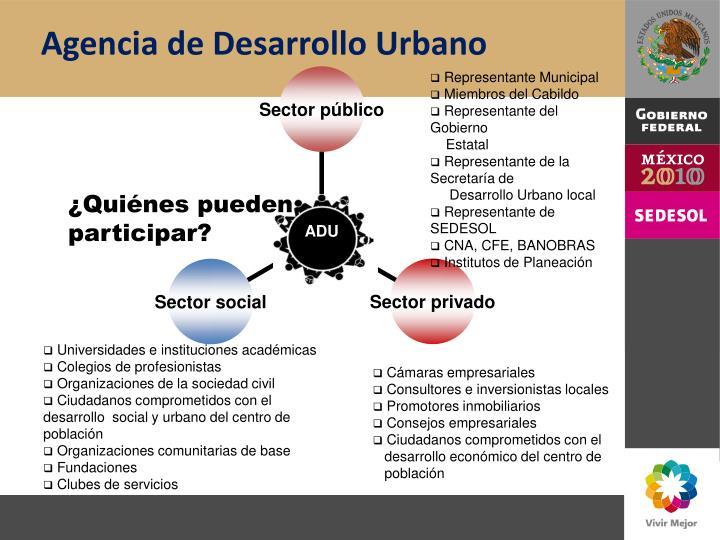 Agencia de Desarrollo Urbano