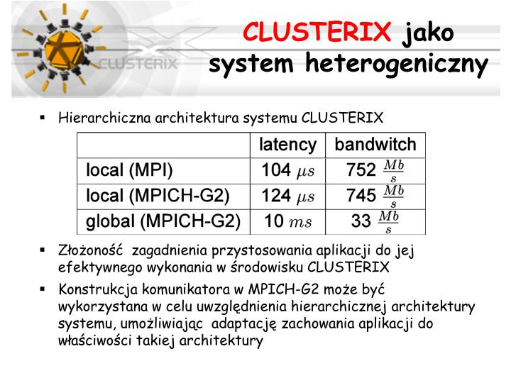 CLUSTERIX