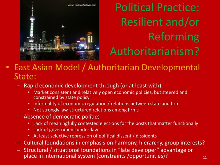 Political Practice: