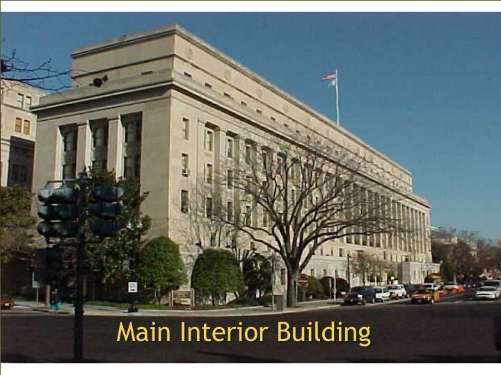 Main Interior Building