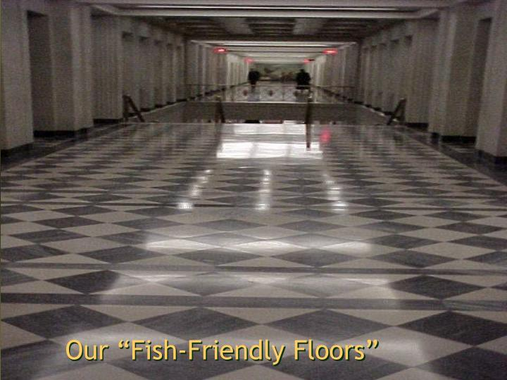 """Our """"Fish-Friendly Floors"""""""