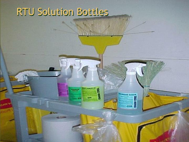 RTU Solution Bottles