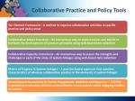 collaborative practice and policy tools