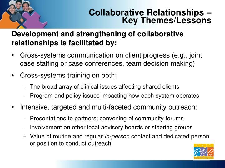 Collaborative Relationships –
