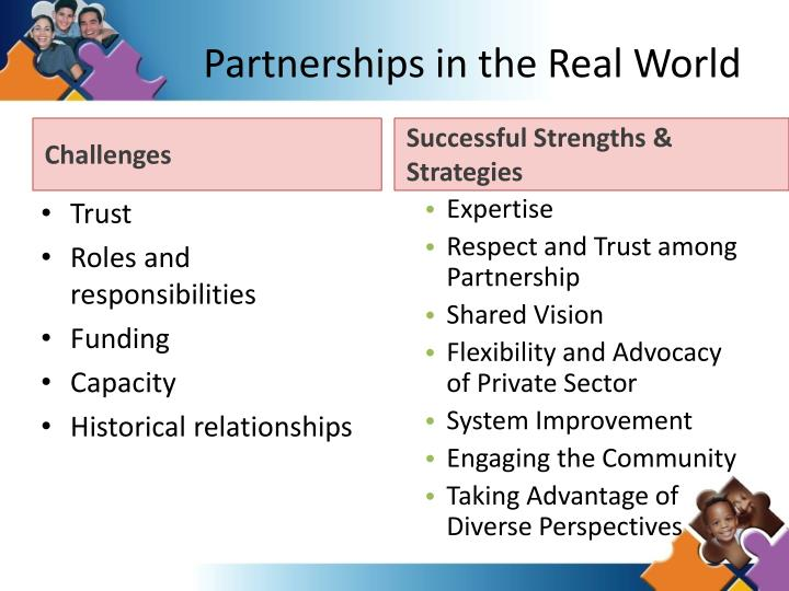 Partnerships in the Real World