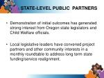 state level public partners