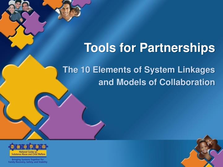 Tools for Partnerships