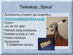 teleskop spica