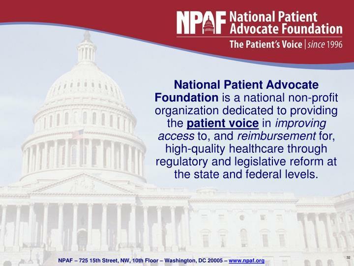 National Patient Advocate Foundation