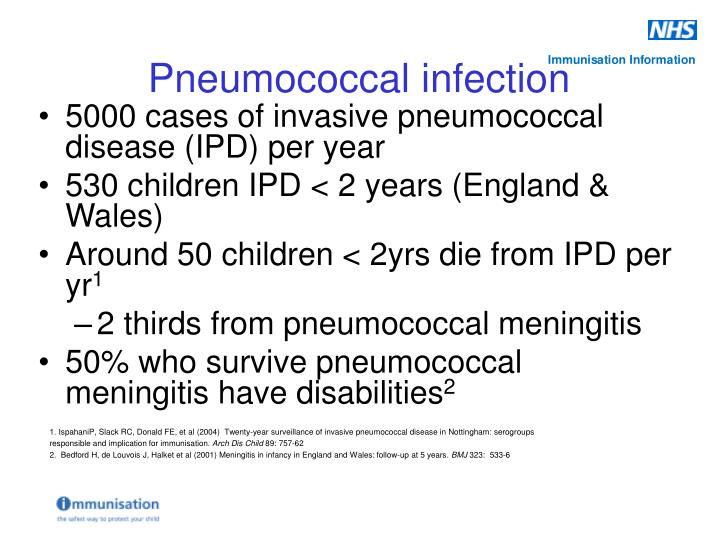 5000 cases of invasive pneumococcal disease (IPD) per year
