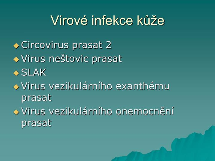Virové infekce kůže