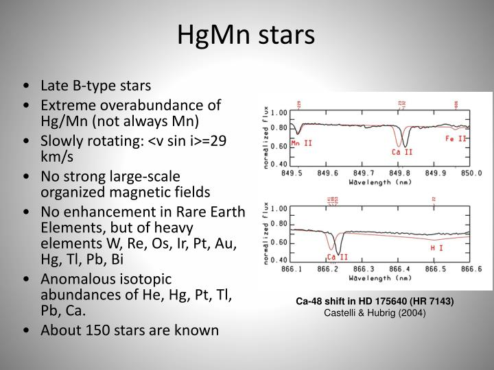 HgMn stars