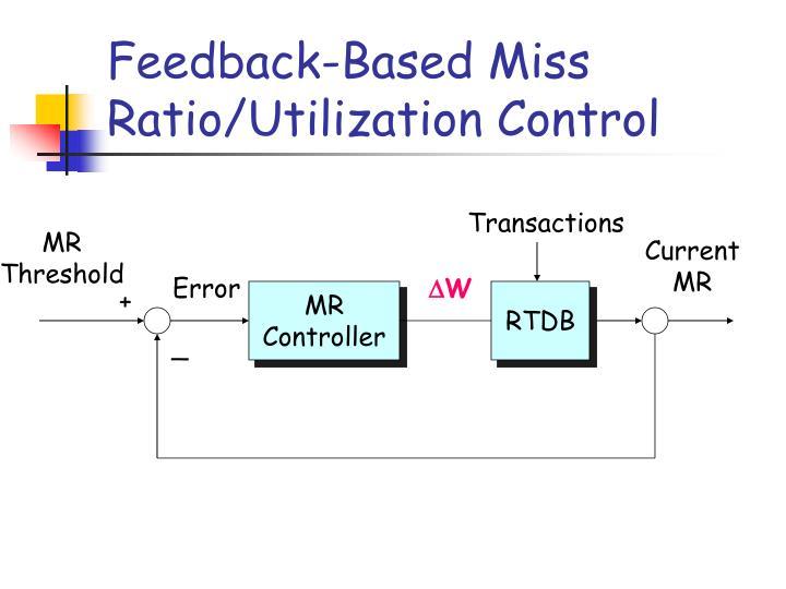Feedback-Based Miss Ratio/Utilization Control