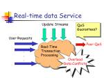 real time data service