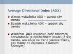 average directional index adx1