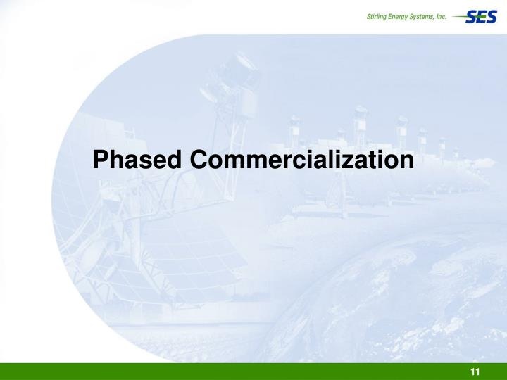 Phased Commercialization