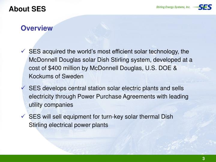 About SES