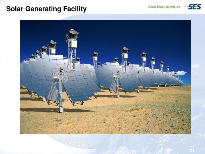 Solar Generating Facility