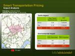smart transportation pricing impact analysis