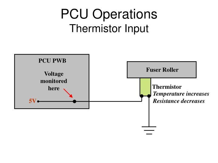 PCU Operations