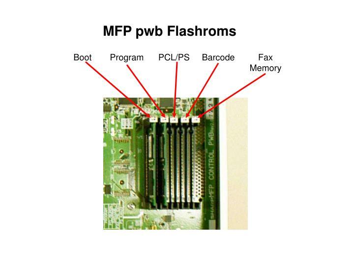MFP pwb Flashroms