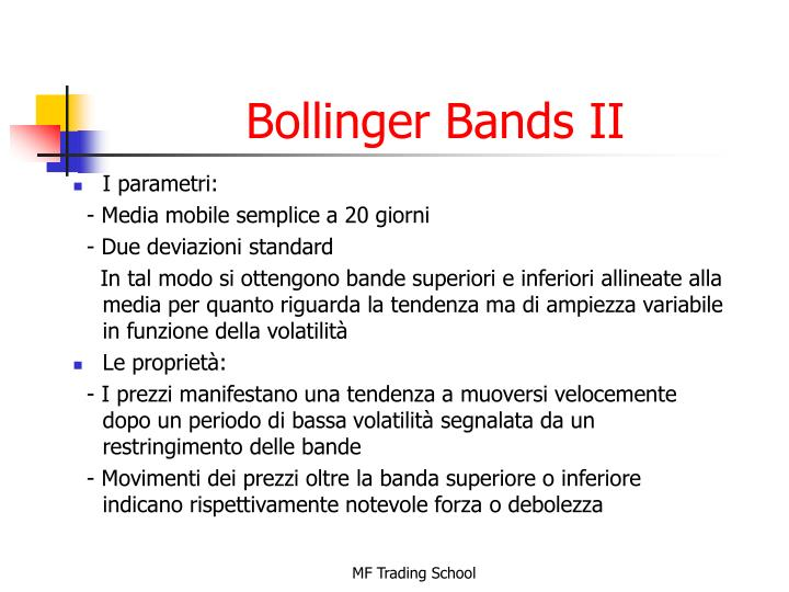 Bollinger Bands II