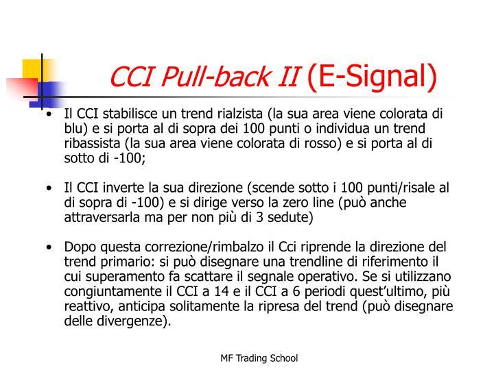 CCI Pull-back II