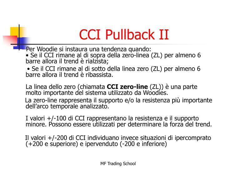 CCI Pullback II