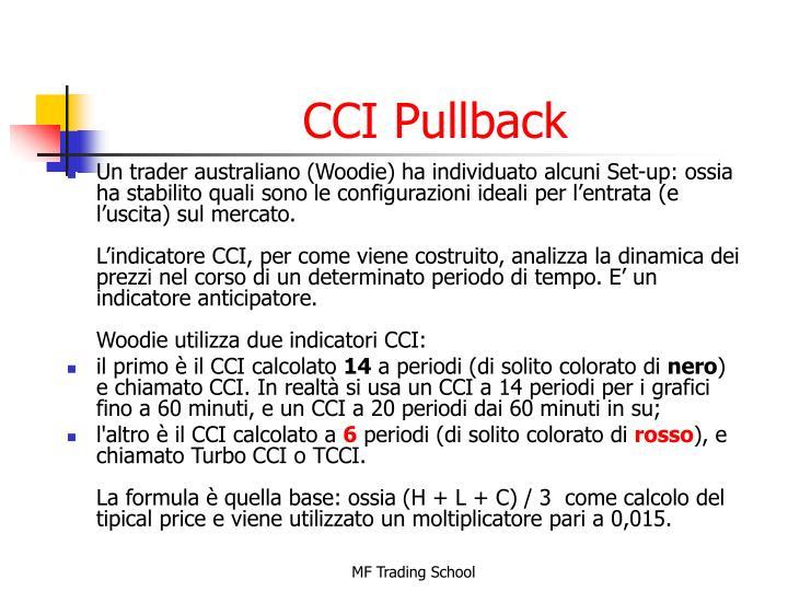 CCI Pullback