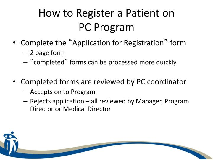 How to Register a Patient on