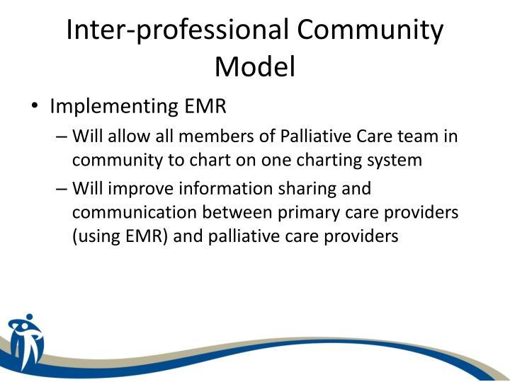 Inter-professional Community Model