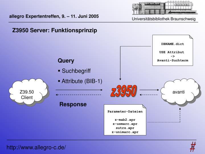 allegro Expertentreffen, 9. – 11. Juni 2005